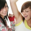Stock Photo: Teen sisters