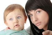 Мать и ее девочка — Стоковое фото