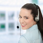 Call center — Foto Stock