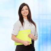 Beautiful smiling woman — Stock Photo