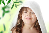 5 歳の少女の肖像画 — ストック写真