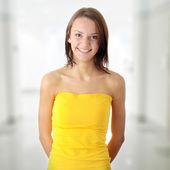 Teen woman portrait — Stock Photo