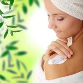 Concetto di skincare — Foto Stock
