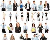 Coleção de negócios — Foto Stock