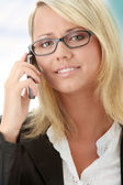 Attractive young business women — Stock Photo