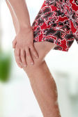 Leg injury — Stock Photo