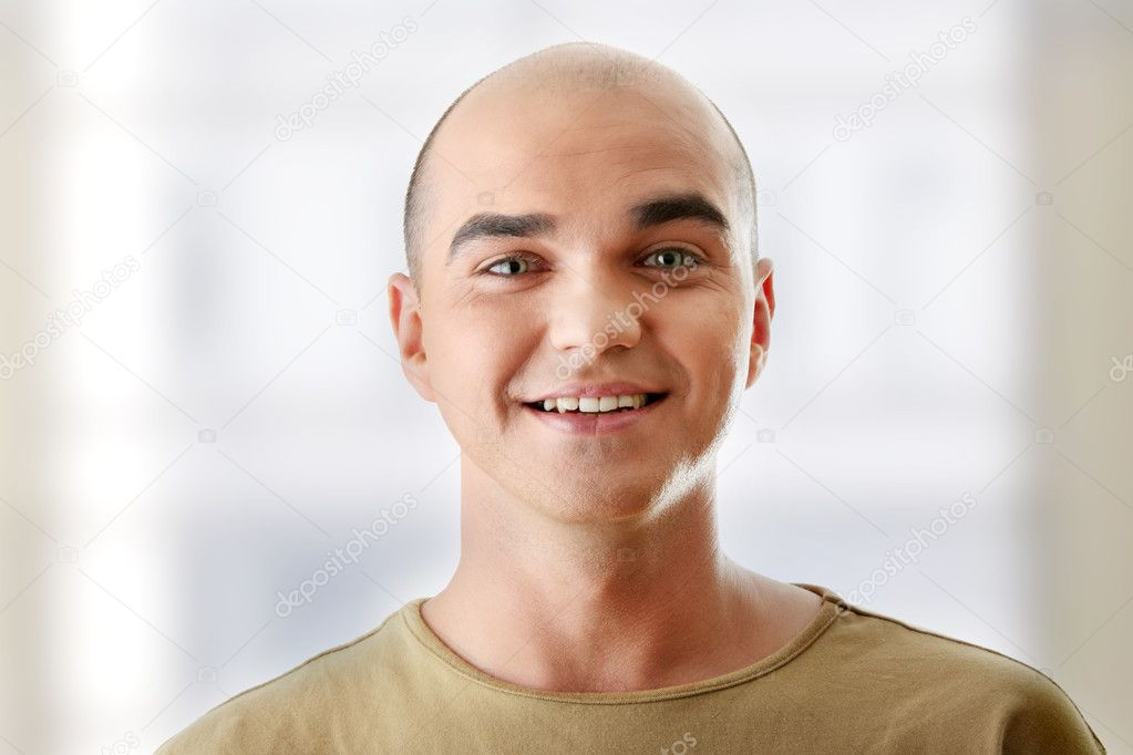 Man with happy facial expression — Stock Photo © piotr ...