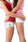Two lesbian women — Stock Photo