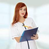 Medical doctor or nurse — Stock Photo