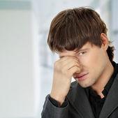 Huvudvärk eller problem — Stockfoto