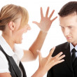 Work Colleagues arguing - Stock Photo