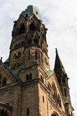 Kaiser Wilhelm Memorial Church, Berlin, Germany — Stock Photo