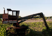Old Industrial Excavator — Stock Photo
