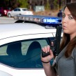 Female Detective — Stockfoto