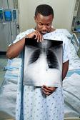 Black Man Patient — Stock Photo
