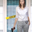 Stock Photo: Female Detective