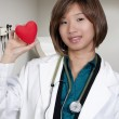 Stock Photo: Female Cardiologist