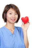 Female Cardiologist — Stock Photo