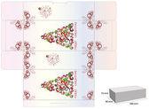 Christmas box — Stockvector