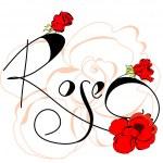 Rose flowers — Stock Vector #4154802