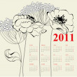 Calendar for 2011 — Stock Vector #4323578