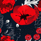 Colorful seamless wallpaper — Stock Vector