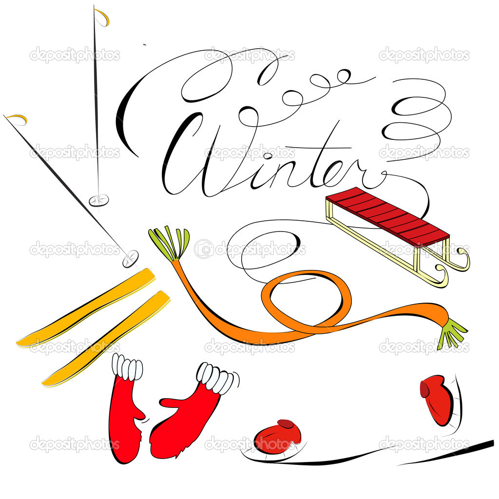 Winter — Stock Vector #4392976