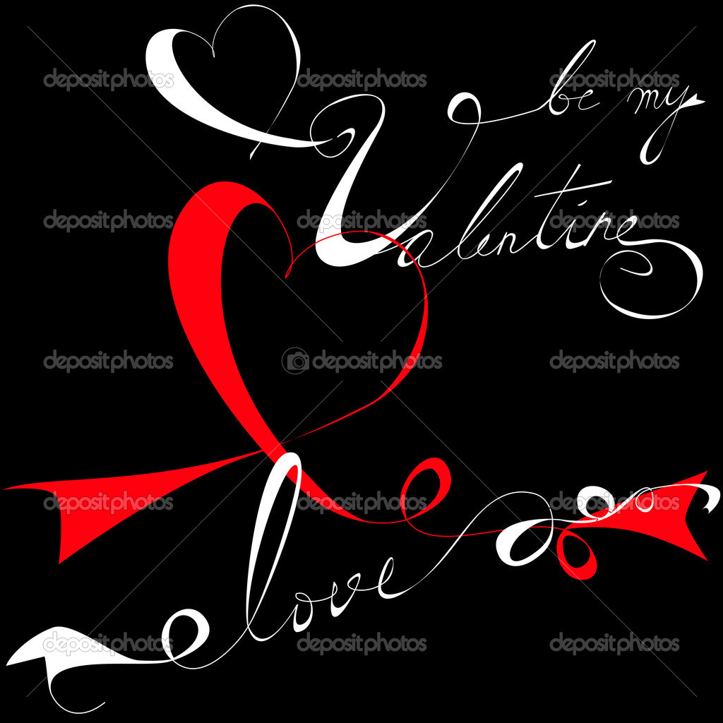 Valentine's day card — Stock Vector #4558764