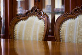Luxury Classic Style Mahogany Furniture. — Stock Photo