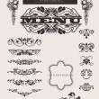Royalty-Free Stock Vector Image: Design Ornate Elements And Page Decoration.