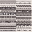 Royalty-Free Stock Vector Image: Big Set Of Vector Decorative Border Lines