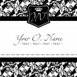 Royalty-Free Stock Imagen vectorial: Vector Small Title Frame and Pattern