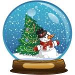 Snowman — Stock Photo #4322127