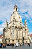 Dresden frauenkirche — Stock Photo