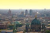 Berlin potsdamer platz at sunset — Stock Photo