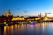 Dresden night — Stock Photo