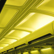 Aircraft cabin - Stock Photo