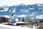 Winter bavaria — Stock Photo