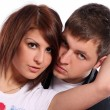 Young and attractive happy couple — Stock Photo #4173201