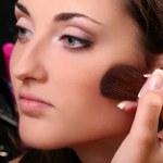 Make up making — Stock Photo