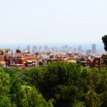 Beautiful view of barcelona city — Stock Photo