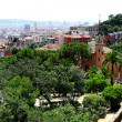 Stock Photo: Beautiful view of barcelona city