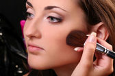 Make up making — Stock Photo