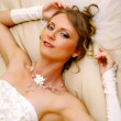 Stock Photo: Beautiful adult woman on wedding