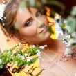 Beautiful adult woman on wedding — Stock Photo