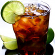 A fresh ice tea with ice — Stock Photo #4196765