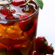 A fresh ice tea with ice — Stock Photo #4196781