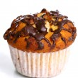 Cupcake with grated chocolate — Stock Photo #4196874