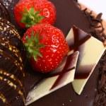 Dessert fruitcake — Stock Photo #4197014