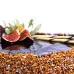 Dessert fruitcake — Stock Photo #4197022